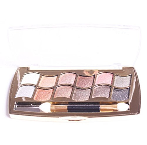 tefamore-12-colors-women-pro-eyeshadow-shimmer-palette-brush-makeup-set-a