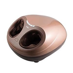 Fußmassagegerät, Sable elektrisches Shiatsu Fussmassage Gegrät mit Wärmefunktion, waschbarer Fußbezug, einstellbare Intensität, FDA Zulassung, für Haus Büro