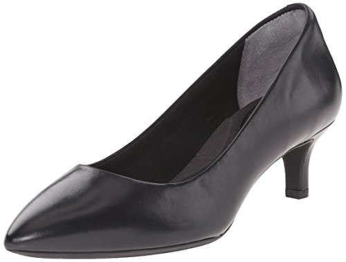 Rockport Kalila Pump Cuir Bottine Black Calf
