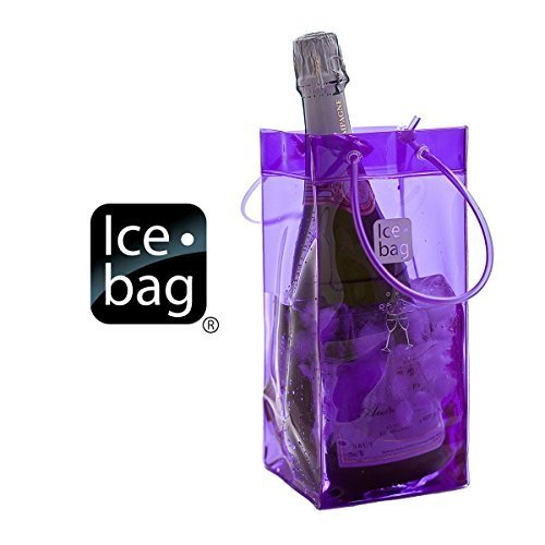 Ice Bag Is Portable and Folds for easy Storage - Purple 107623, Set of 2 by Ice Bag