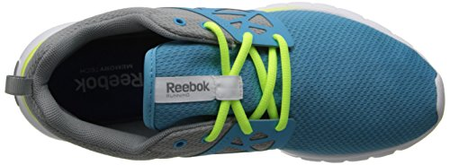 Reebok Sublite autentica Scarpa da corsa Blue-Grey-Yellow