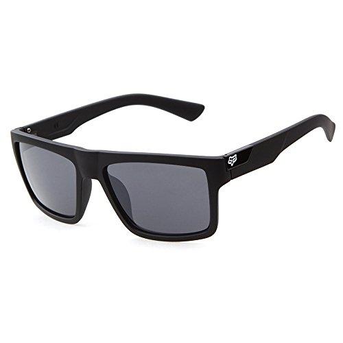 GCR Sonnenbrille Schatten Polarisierende Brille Fox Head Vintage Lässige Sonnenbrille , C1 Männer Versace Brillen Frames