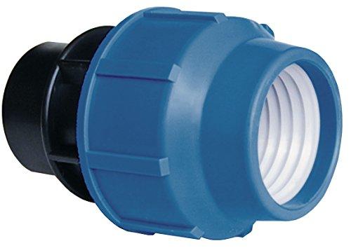 Cornat Système d'irrigation 317423, 40 mm, Ø 1 1/4 Filetage intérieur, Polypropylène, en PE pour Eau Froide