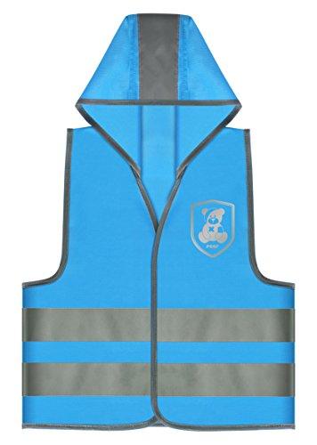 Reer 53012 MyBuddyGuard Sicherheitsweste, Motiv Monster, blau