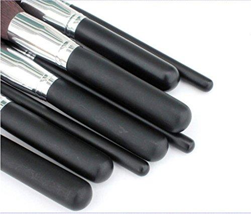 Cexin noire professionel 10 pinceaux de maquillage exquis