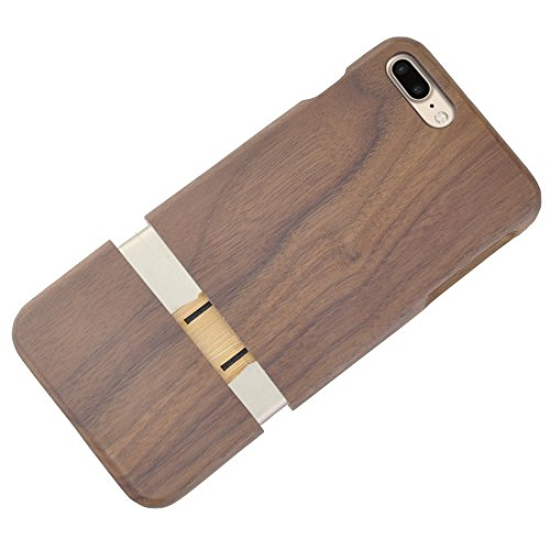 Für iPhone 7 Plus Vertical Flip Sapele Wooden Schutzmaßnahmen zurück Fall DEXING ( SKU : IP7P2130A ) IP7P2130C