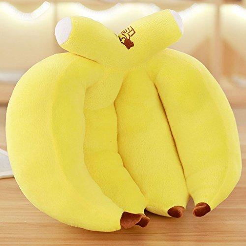 WYQLZ Dessin animé belle banane Hold oreiller Creative Fruit Home Office Canapé Coussin ( taille : 40 cm )