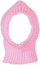 Krystle Boy's and Girl's Woollen Cap (Pink, Free Size)