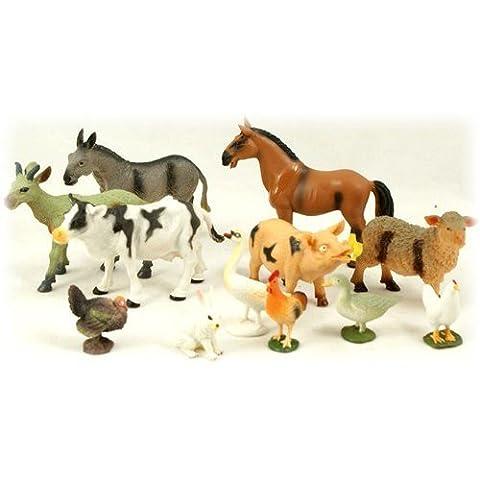Farm Animal Set Of 12