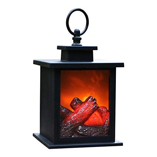 PK Green Farol Chimenea LED Decorativa a Pilas