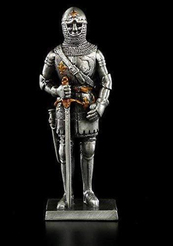 Zinn-Ritter Figur - Charles von Orleans | Ritterrüstung Deko Veronese Zinnritter Ritterfigur