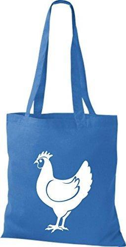 Shirtstown Stoffbeutel Tiere Hahn, Chicken Royal