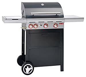 Barbecook 2236935000 Spring 350 Barbecue a Gas, Nero