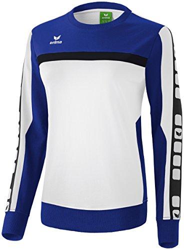 CLASSIC 5-CUBES Sweatshirt Weiß/Indigo Blau/Schwarz