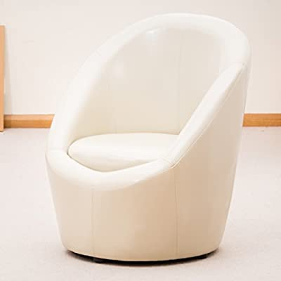 Funky Modern Egg Shaped Mololo Tub Chair in Leather