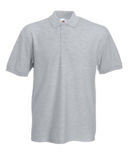 Fruite of the Loom Heavy Polo Shirt, vers. Farben Heather Grey