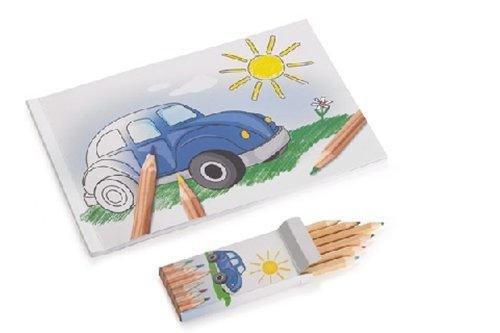 Preisvergleich Produktbild VW Malbuch mit Buntstiften,  Werbemittel - 000087703AR
