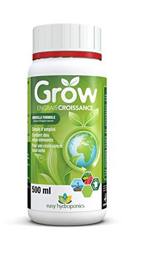 Easy Hydroponics - Nutriments - Grow 500 ml (croissance) - Engrais complet pour cultures hydroponiques