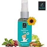 The EnQ Skin Lightening Oil || 98% NATURAL & ORGANIC Formulation || Reduces Wrinkles || Almond Oil || Sunflower oil || Olive Oil || Jojoba Oil || Grape seed Oil || Turmeric Oil || Winter Cherry Oil ||