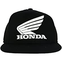 HONDA HRC Moto GP Team Logo Flat Peak Gorra Negro Oficial 2018 c380fc37d29