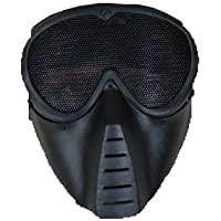 Protective goggles and mask goggle full face type mesh face guard black (japan import)