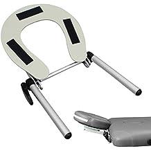 Vivezen ® Supporto testa, poggiatesta in alluminio per lettino da massaggio - Norma CE