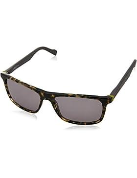 BOSS Orange Fine Square Sonnenbrillen schwarz Honig grau BO 0174/S JJI 55