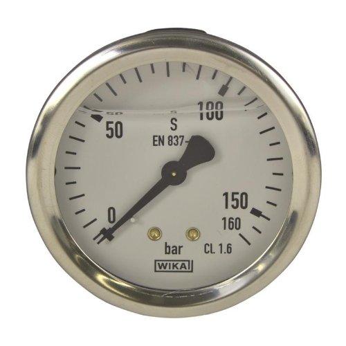 Manometer, NG 63, 0-160 bar - WIKA 213.53 - 9022430