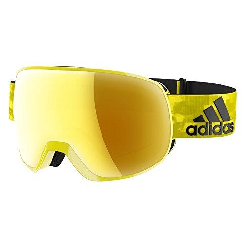 Adidas Brille Skibrille Googles ad82 PROGRESSOR S bright yellow shiny 6052