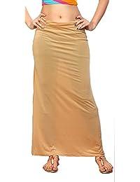 Creative Lycra Fabric Women Solid Petticoat