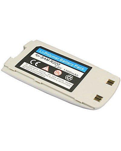 cellePhone Akku Li-Polymer für Samsung SGH-R220 / R210S - silber ( ersetzt BST0579SE / BST0579DE / BST0579KE )