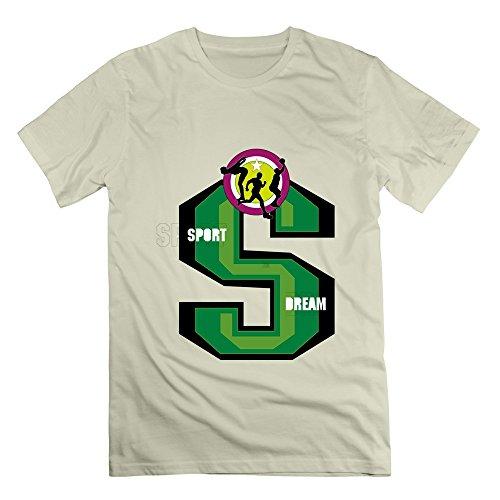 Sophie Warner Herren T-Shirt Gr. M, Braun - - James Lebron Halloween
