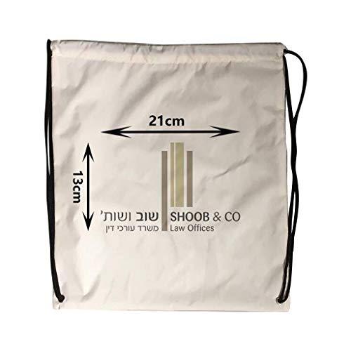 Kordelzug Cinch Tasche (Fcostume Nylon Kordelzug Cinch Sack Sport Reise Outdoor Rucksack Taschen für Ipad (B))