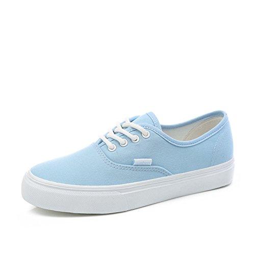 Classique imperméables chaussures de toile de femmes/Sauvages chaussures de sport plats/Étudiant à fond épais chaussures plates laçage C