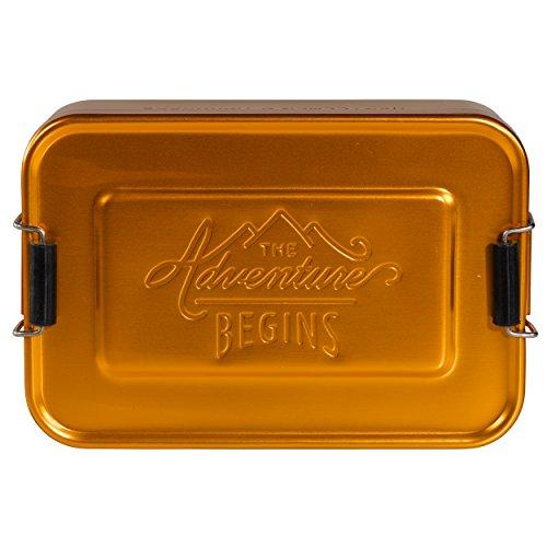 Gentleman 's Hardware Aluminium-Brotdose, Gold -