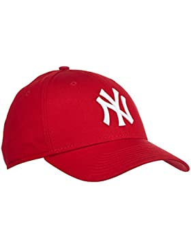 A NEW ERA Era York Yankees - Gorra para hombre, color rojo (scarlet/white), talla única