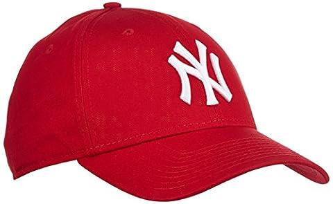 New Era 10531938 - Casquette de Baseball - Homme - Rouge (Scarlet) - Taille unique (Taille fabricant: Taille unique)