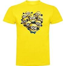 The Fan Tee Camiseta de Minions Banana Gru Banana Pulp Fiction Hombre gYDAHZ