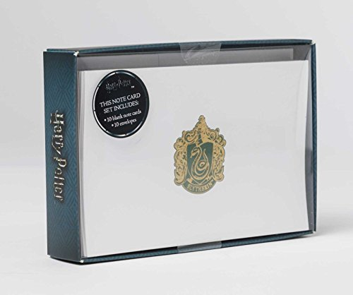 Harry Potter: Slytherin Foil Notecards Set of 10 Harry