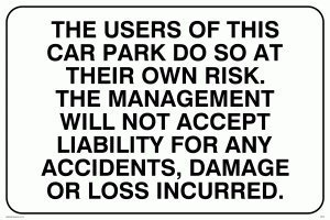 viking-signs-ir578-a4l-1m-carpark-liability-disclaimer-sign-1-mm-plastic-semi-rigid-200-mm-h-x-300-m