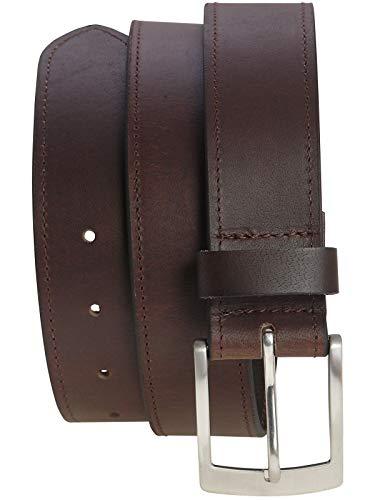 Harrys-Collection Tresorgürtel mit Reißverschluß, Farben:dunkelbraun, Bundweite:90