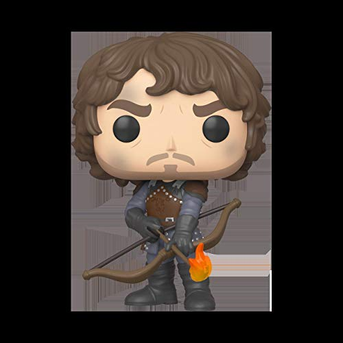 Funko Pop TV: Game of Thrones-Theon w/Flaming Arrows (GW) Figura Coleccionable, Multicolor (44821)