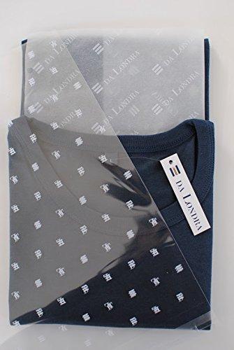 T-Shirt aus Bambusfaser und Bio-Baumwolle Denim