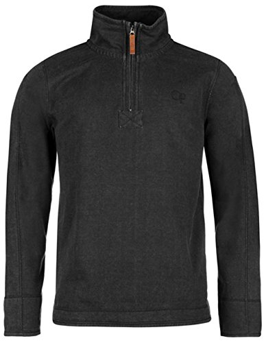 mens-stylish-quarter-zip-pique-sweater-top-xx-large-charcoal
