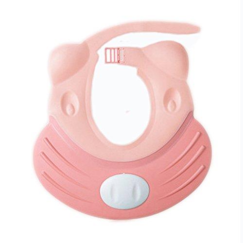 Preisvergleich Produktbild hangnuo auslaufsicher Baby Bad Visier für Kleinkind Kids–verstellbar Silikon Dusche Hat Haar Shield