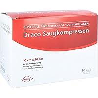 SAUGKOMPRESSEN unsteril 10x20 cm Draco 30 St preisvergleich bei billige-tabletten.eu