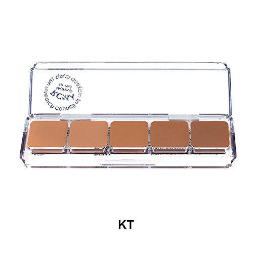 Paleta RCMA 5 Part Series Favorites Foundation, Serie KT
