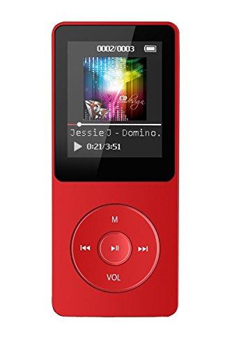 Tabmart ® M01 Eintrag HiFi 8G Speicherkapazität MP3 Player 70 Stunden Musik wiedergabe 1,8