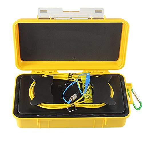 GreatWall FC-UPC/SC-UPC Professioneller Einzelmodus 1KM OTDR Startkabel Box Faserring gelb & zurück -