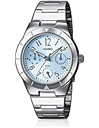 Casio -LTP-2069D-2A2VEF - Montre Femme - Junior - Quartz analogique - Dateur - Bracelet acier